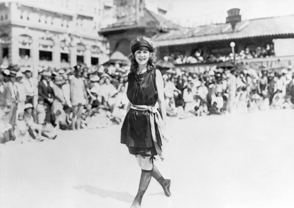 MARGARET GORMAN, 1921. First Miss America at Atlantic City in 1921