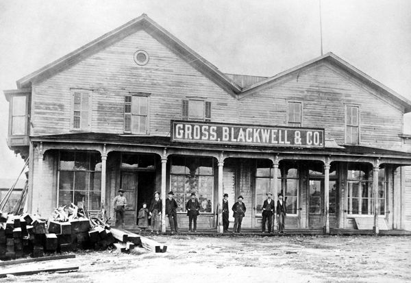 NEW MEXICO: COMPANY STORE. Gross, Blackwell & Company store in Las Vegas, New Mexico
