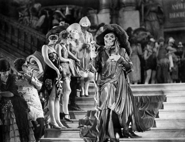 PHANTOM OF THE OPERA, 1925.  Lon Chaney in the title role of the film, 'Phantom of the Opera,' 1925