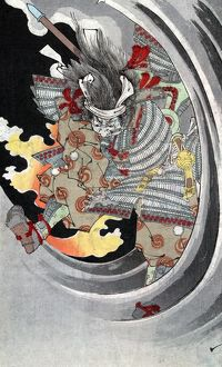 (1152-1185). Japanese warrior, one of the chief commanders of the Taira Clan