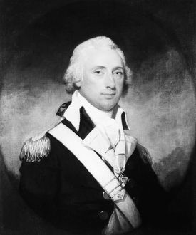 (1755-1816). American Revolution War officer and politician. Oil on canvas by Gilbert Stuart