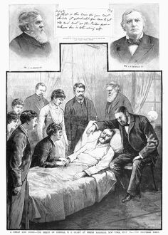 18th President of the United States. Grant's death at Mount McGregor, New York