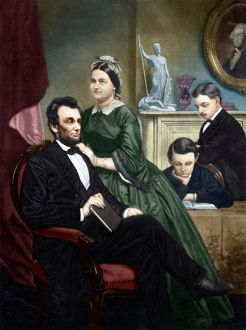 ABRAHAM LINCOLN (1809-1865). 16th President of the United States