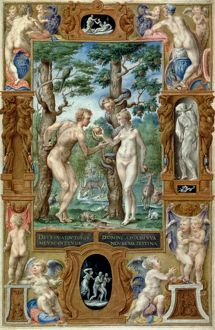 adam eve/adam eve 1546 fall illumination italian book