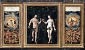 adam eve/adam eve c1525 fall man wood c1525 albrecht
