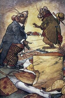 Aesop's fable of 'The Town Mouse and the Country Mouse