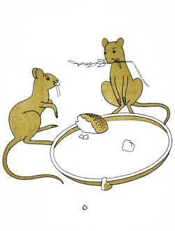 Aesop's fable of The Town Mouse and the Country Mouse