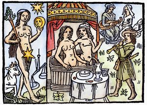 astronomy/allegory venus 1496 personification venus planet