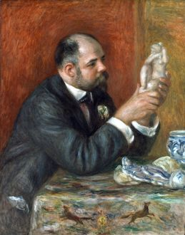 AMBROISE VOLLARD (1865-1939). French art dealer and publisher. Oil on canvas, 1908, by P