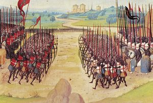medieval/battle agincourt 1415 battle french english