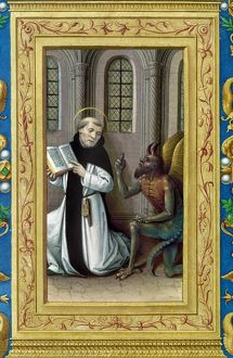 BERNARD de CLAIRVAUX (1190-1153). French theologian and reformer