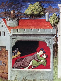love romance/boccaccio lovers c1430 daughter tancredi prince