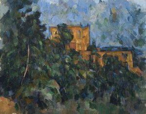 CEZANNE: LE CHATEAU NOIR. Oil on canvas, Paul Cezanne, c1905