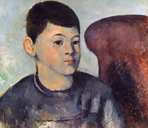 CEZANNE: PORTRAIT OF SON. Paul Cezanne: Portrait of the Artist's Son. Oil on canvas.