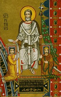 CHARLEMAGNE (742-814). /nKing of the Franks, 768-814, and Emperor of the West, 800-814