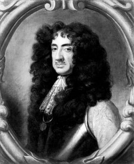 CHARLES II (1630-1685). King of Great Britain and Ireland, 1660-1685