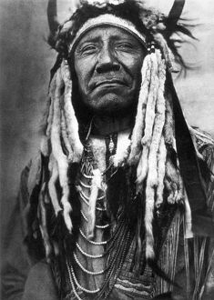 CHEYENNE CHIEF, c1910. The Cheyenne chief Two Moons. Photographed by Edward S. Curtis