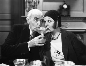 Claude Gillingwater and Winnie Lightner in a scene from the film.
