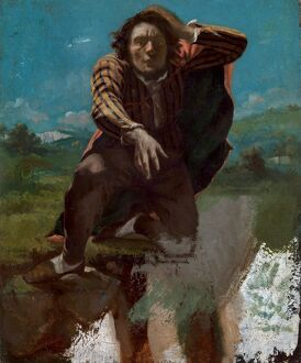COURBET: MAD WITH FEAR. 'The Man Made Mad with Fear