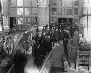 DEPORTATION, 1920. Suspected communists and other radical foreign citizens boarding