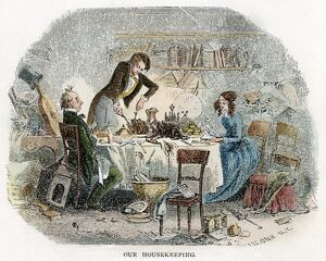 DICKENS: DAVID COPPERFIELD. 'Our housekeeping