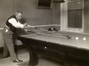 The early 20th century American amateur billiards champion, Edward W