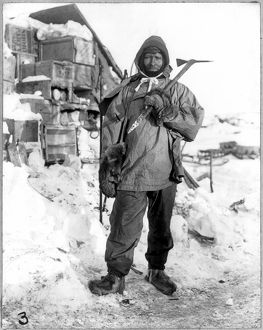 EDGAR EVANS (1876-1912). Member of Robert Falcon Scott's expedition to the South Pole