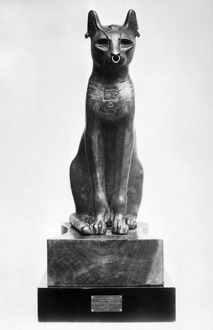 cats/egypt goddess bastet gayer anderson cat representing