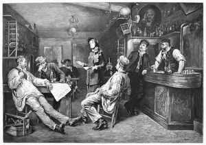 bars taverns saloons/an english lady preacher salvation army swiss
