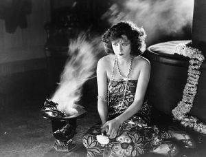 FILM STILL: FORTUNE TELLING. Anita Stewart in a scene from 'Never the Twain Shall Meet