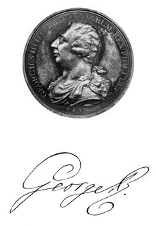 GEORGE III (1738-1820). King of Great Britain, 1760-1820. Medal by C.H. Kuchler
