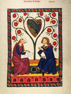 love romance/german minnesinger 14th c minnesinger alram von