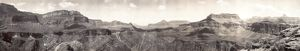 GRAND CANYON, c1909. Panoramic view of the Grand Canyon in Arizona. Photographed c1909