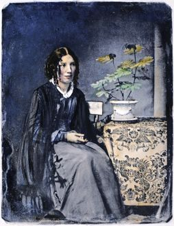HARRIET BEECHER STOWE (1811-1896). American abolitionist and writer