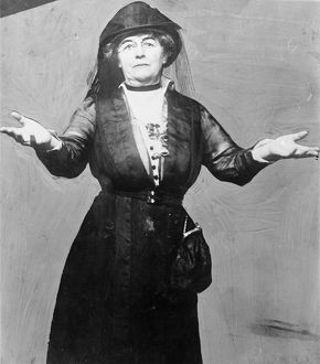 HARRIOT STANTON BLATCH (1856-1940). American suffragette and political leader. Photograph