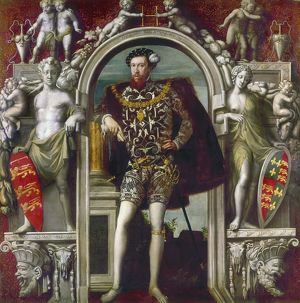 HENRY HOWARD (1517?-1547). Earl of Surrey. English soldier and poet. Oil on canvas
