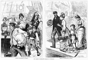 IMMIGRATION, 1878. 'Two Phases of Immigration