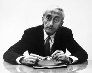 JACQUES COUSTEAU (1910-1997). French oceanographer. Photographed in 1974.