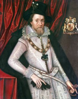 JAMES I (1566-1625). King of Great Britain, 1603-1625