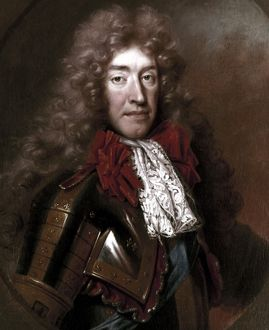 JAMES II (1633-1701). King of Great Britain and Ireland, 1685-1688. Oil on canvas