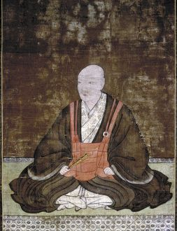 Japanese feudal lord of Bungo. Sorin depicted as a Buddhist, prior to his conversion