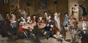 bars taverns saloons/john greenwood american sea captains carousing