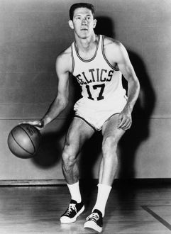JOHN HAVLICEK (1940- ). American basketball player, with the Boston Celtics. Photograph