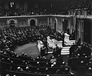 american elections/joint session congress assembled chamber house