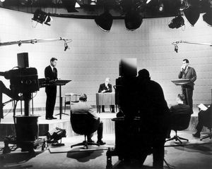 KENNEDY/NIXON DEBATE, 1960. John F. Kennedy, 35th President of the United States