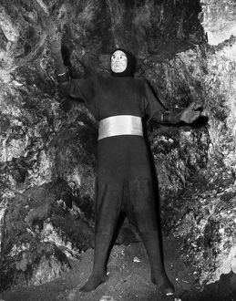 KILLERS FROM SPACE, 1953. John Merrick as Deneb from the planet Astron Delta. Film still