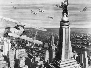 KING KONG, 1933. A still from the film, 1933.