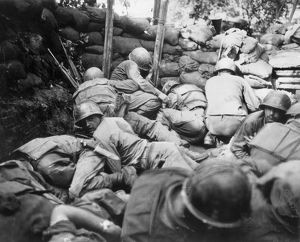 KOREAN WAR, 1950-1953. Infantrymen of the Second U