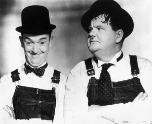 laurel and hardy stan laurel left