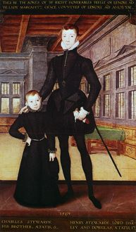 LORD DARNLEY (1545-1567). Henry Stuart. Scottish nobleman and consort of Mary, Queen